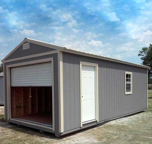 Portable Garages with roll up doors Starke Florida